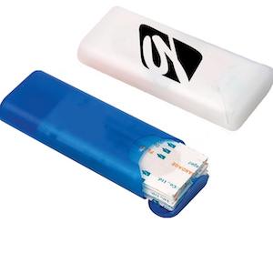 náplasti v plastovém pouzdru na zakázku